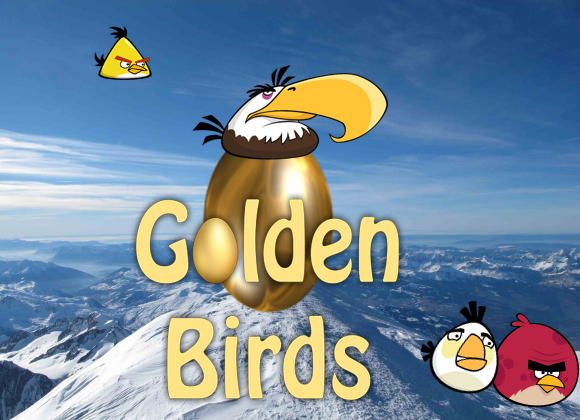 golden birds