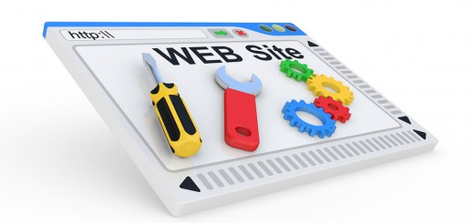 Website is under construction. 3D Illustration on a white background.