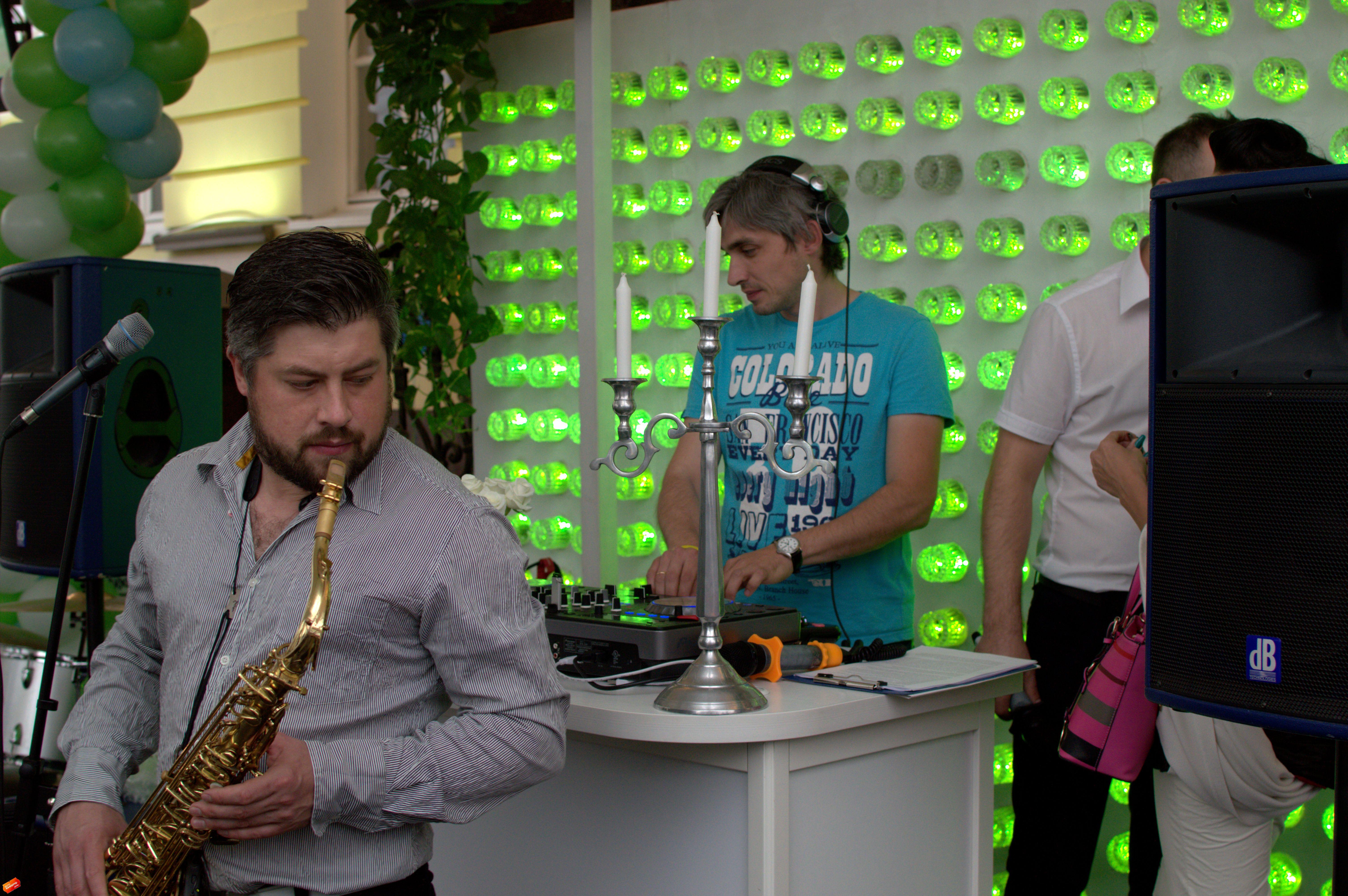 саксофон живая музыка
