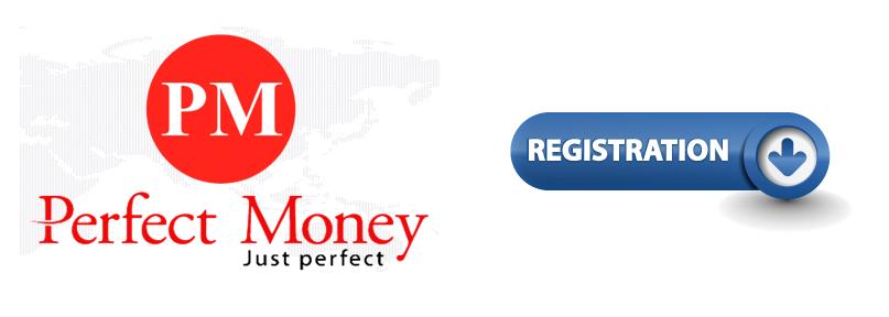 логотип регистрации в perfect money