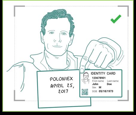 Верификация на poloniex